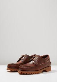 Sebago - ACADIA - Boat shoes - brown cinnamon - 2
