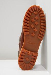 Sebago - ACADIA - Boat shoes - brown cinnamon - 4