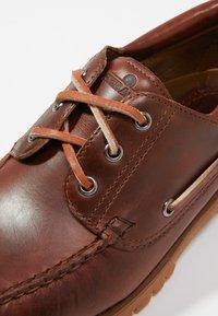Sebago - ACADIA - Boat shoes - brown cinnamon - 5