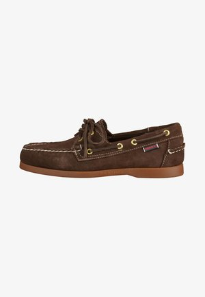 Chaussures bateau - brown
