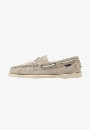 DOCKSIDES ZEN - Boat shoes - light beige