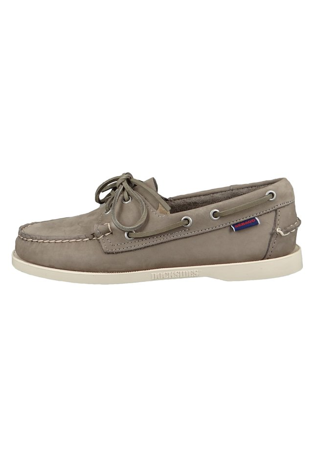 DOCKSIDES PORTLAND  - Boat shoes - mid grey