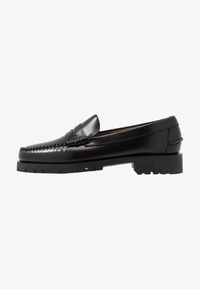DAN LUG - Mocassins - black