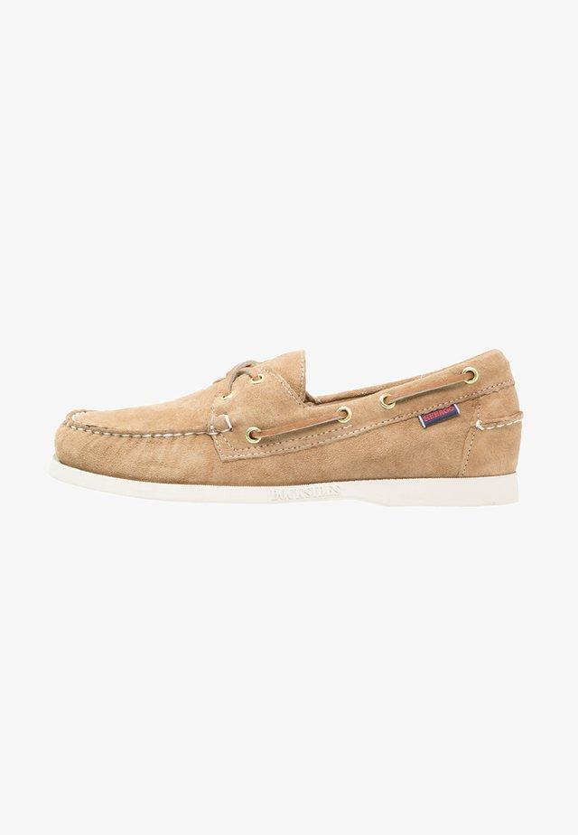 DOCKSIDES - Boat shoes - sand