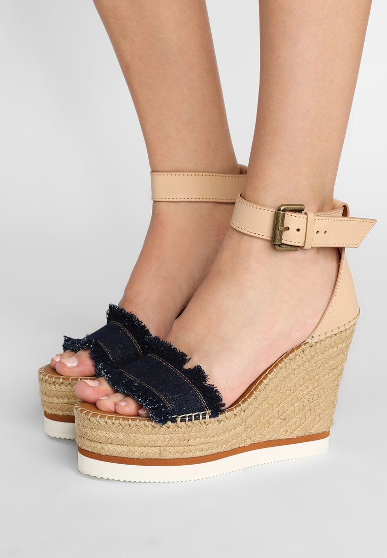 See by Chloé - High Heel Sandalette - denim