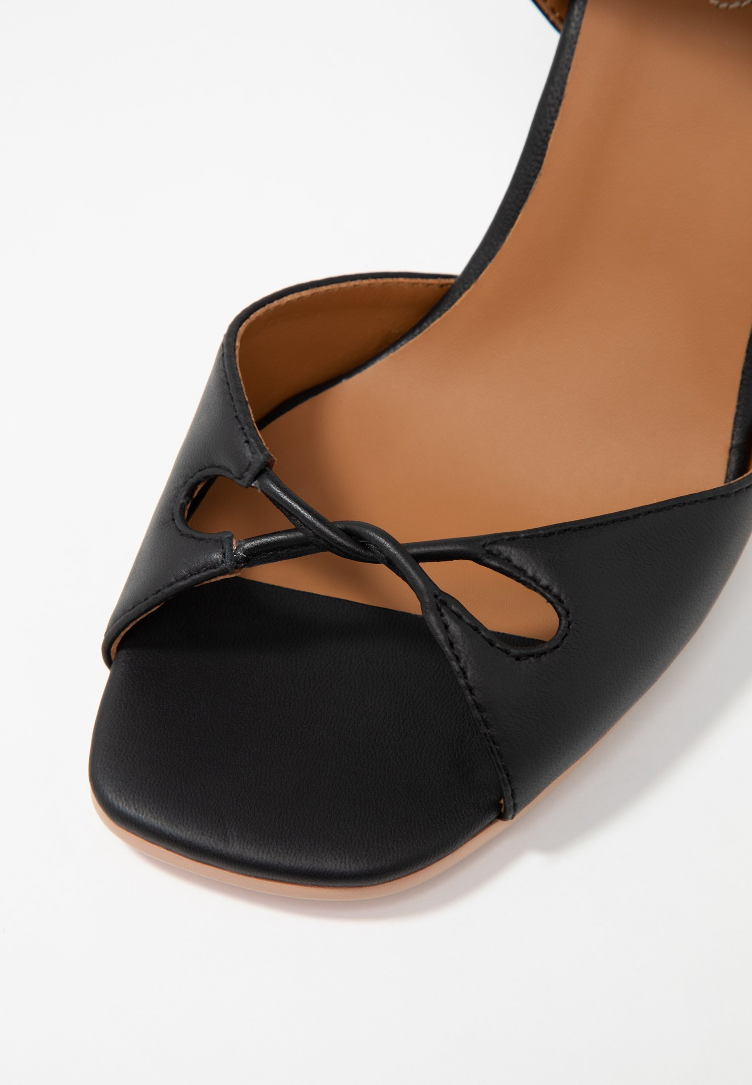 by Chloé à See talons nero Sandales hauts OnXP80wk