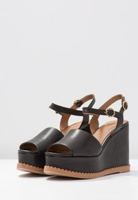 See by Chloé - High heeled sandals - nero - 4