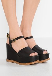 See by Chloé - High heeled sandals - nero - 0