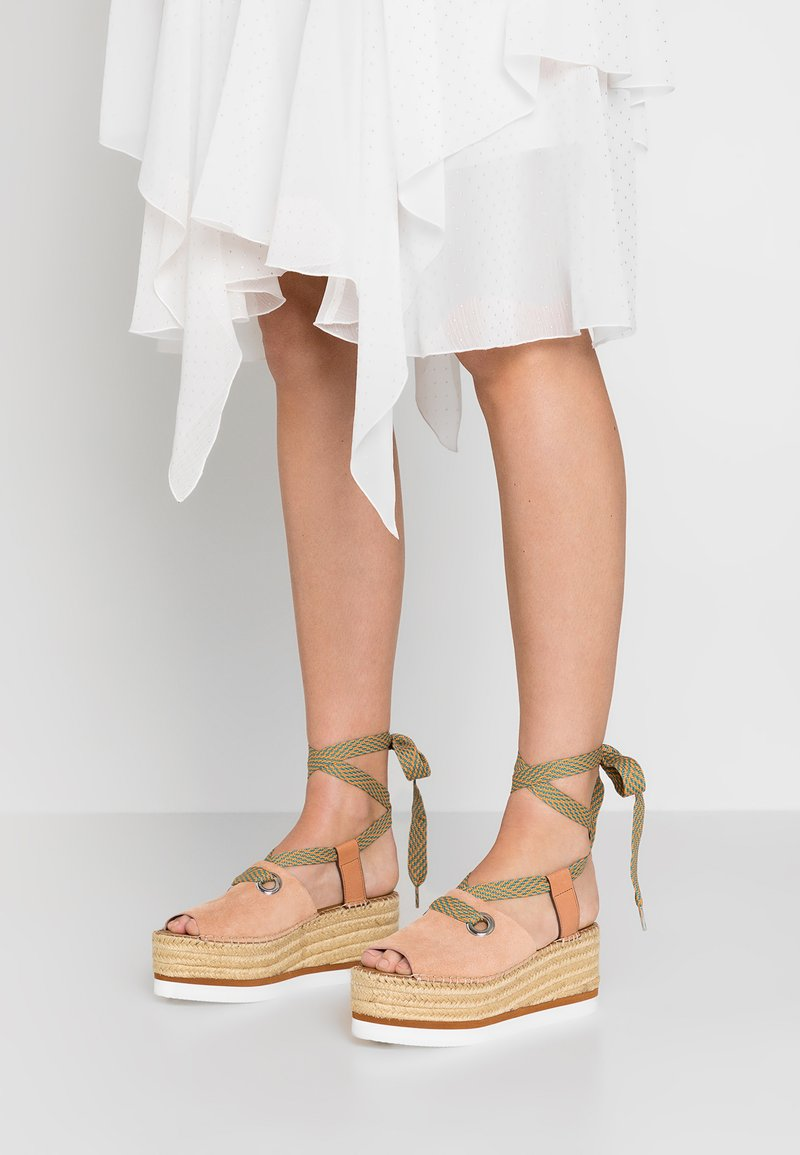 See by Chloé - Platform sandals - cipria