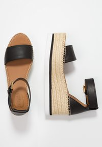 See by Chloé - Platform sandals - nero - 3