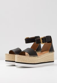 See by Chloé - Platform sandals - nero - 4