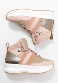 See by Chloé - Sneakersy wysokie - light pink - 3