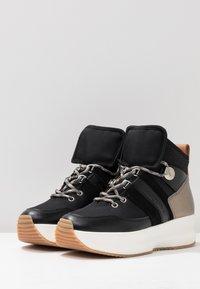 See by Chloé - Sneakersy wysokie - black - 4