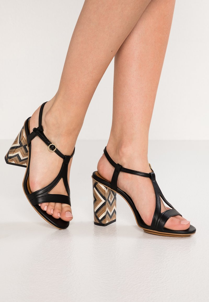 See by Chloé - High Heel Sandalette - nero/tacco/multicolor/natural