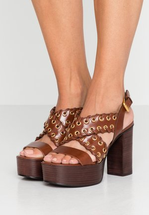 High heeled sandals - libano