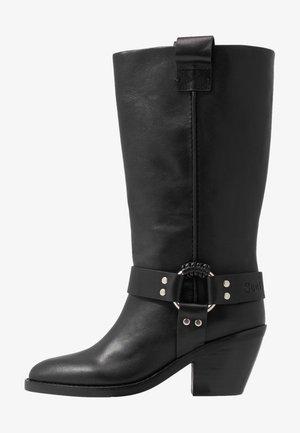 Cowboy/Biker boots - nero