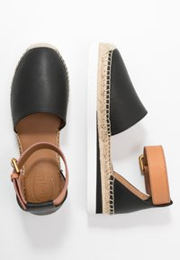 See by Chloé - EXCLUSIVE  - Espadrilky - natural/nero - 3
