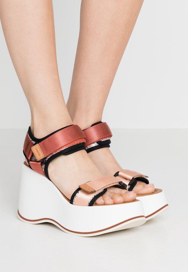 Sandalen met hoge hak - opac