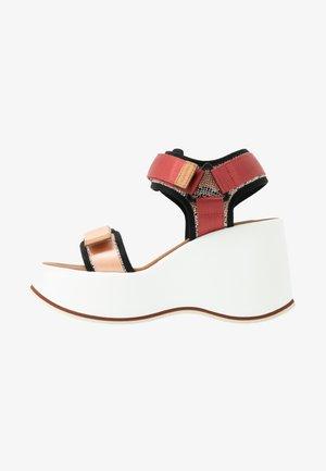 High heeled sandals - opac