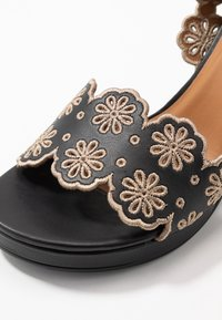 See by Chloé - Korolliset sandaalit - nero/taupe - 2