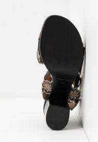See by Chloé - Korolliset sandaalit - nero/taupe - 6