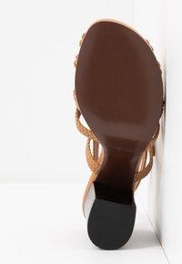 See by Chloé - Sandály na vysokém podpatku - grano - 6