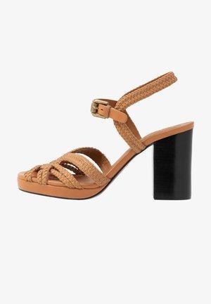 Sandalen met hoge hak - grano