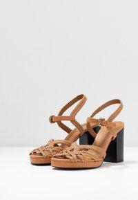 See by Chloé - Sandály na vysokém podpatku - grano - 4