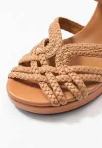 See by Chloé - Sandály na vysokém podpatku - grano - 2