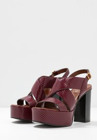See by Chloé - High heeled sandals - bordeaux - 4