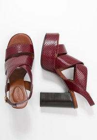 See by Chloé - High heeled sandals - bordeaux - 3