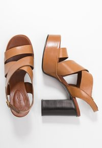 See by Chloé - High heeled sandals - cognac - 3