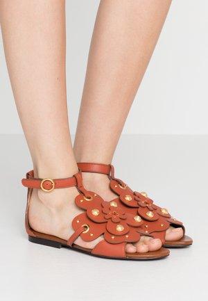 Sandals - rust