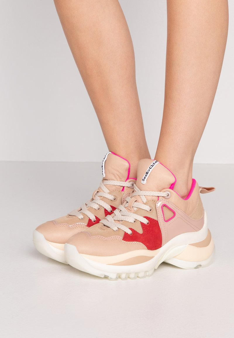 See by Chloé - Trainers - light pink
