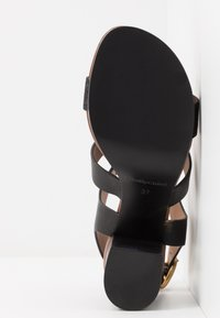 See by Chloé - High heeled sandals - glitter/nero - 6