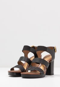 See by Chloé - High heeled sandals - glitter/nero - 4