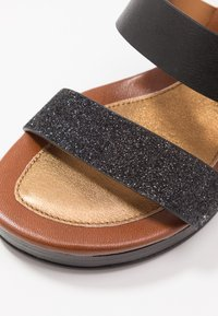 See by Chloé - High heeled sandals - glitter/nero - 2
