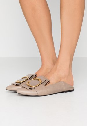 Slipper - taupe