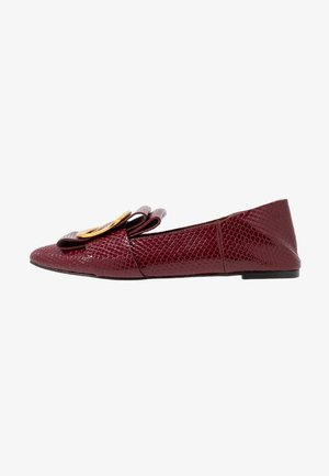 Loafers - bordeaux
