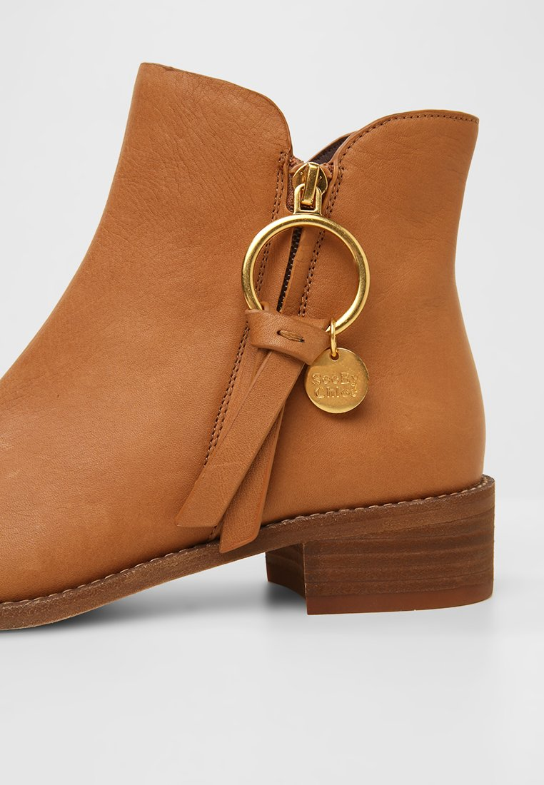 by See Boots camel Chloé à talons lF13KTJc