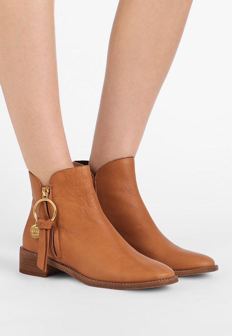 See by Chloé - Ankle Boot - camel