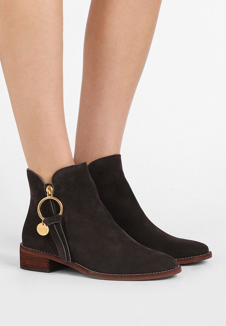 See by Chloé - Ankle boot - graphite