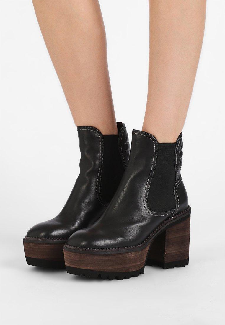 See by Chloé - High Heel Stiefelette - black