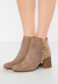 See by Chloé - Ankle boots - taupe - 0
