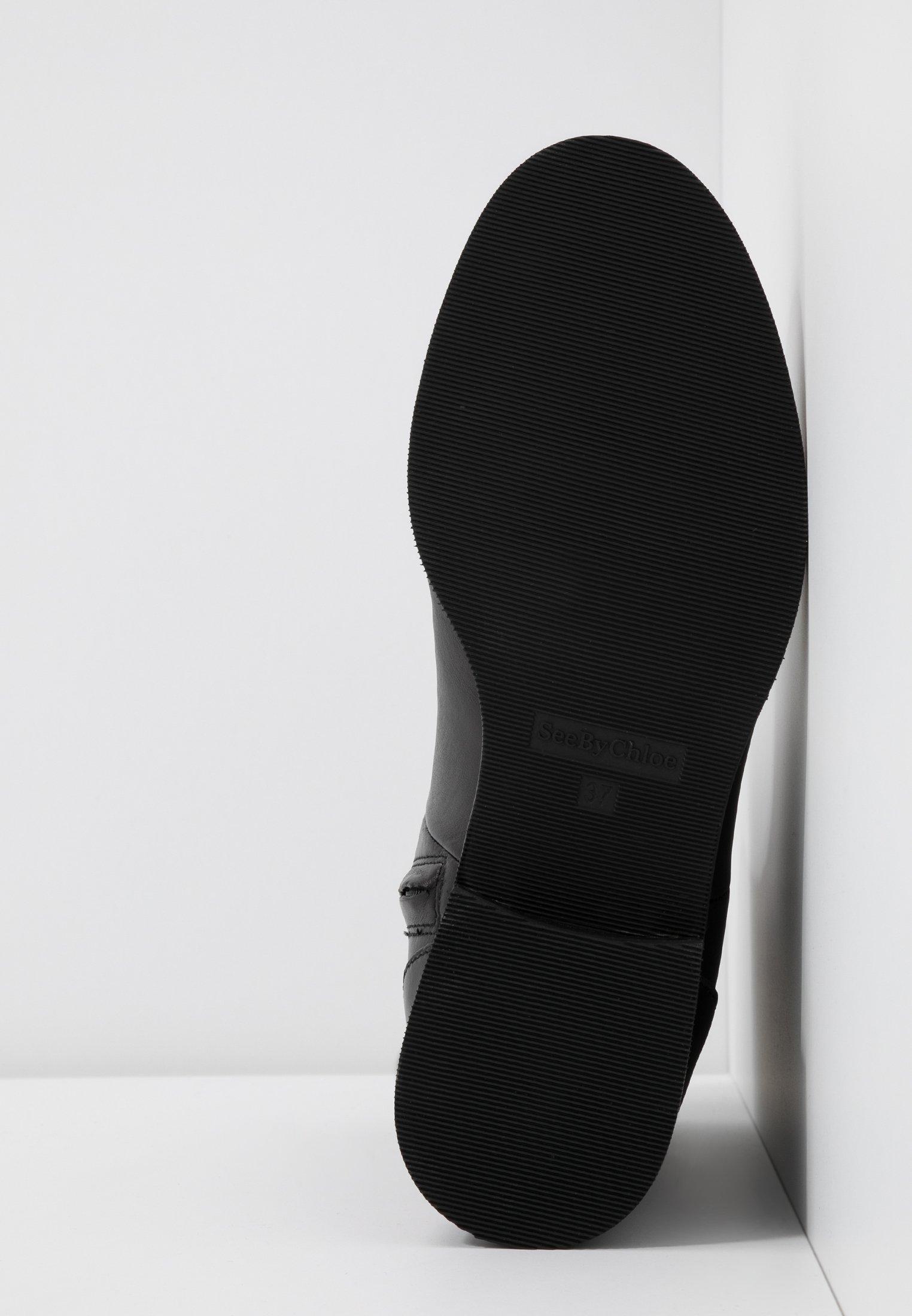 See by Chloé Bottines nero