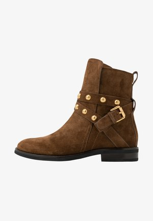 Cowboy/biker ankle boot - savana