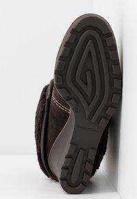 See by Chloé - Kotníková obuv na vysokém podpatku - grafite/testa di moro - 6