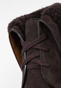 See by Chloé - Kotníková obuv na vysokém podpatku - grafite/testa di moro - 2