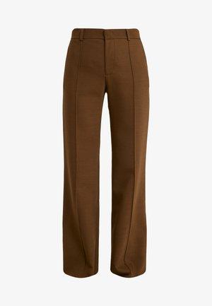 Spodnie materiałowe - smoked brown