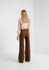 See by Chloé - Spodnie materiałowe - smoked brown - 2